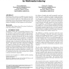 Unsupervised Classification of Sound for Multimedia Indexing