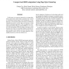 Unsupervised HMM Adaptation Using Page Style Clustering