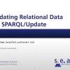 Updating relational data via SPARQL/update