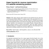 Upper bounds for revenue maximization in a satellite scheduling problem