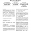 Use of statistical outlier detection method in adaptive evolutionary algorithms