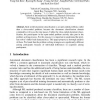 User Behavior Analysis of the Open-Ended Document Classification System