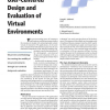 User-Centered Design and Evaluation of Virtual Environments