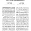 User-Centred Development of Mobile Interfaces to a Pervasive Computing Environment
