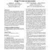 User evaluation of lightweight user authentication with a single tri-axis accelerometer