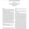 Using early phase termination to eliminate load imbalances at barrier synchronization points