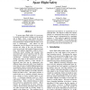 Using Fuzzy Clustering for Real-time Space Flight Safety