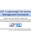 USP: A Lightweight File System Management Framework