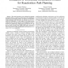Utilization of Holonomic Distribution Control for Reactionless Path Planning