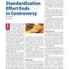 UWB Standardization Effort Ends in Controversy