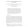 Varying Personality in Spoken Dialogue with a Virtual Human