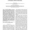 Vehicle Identification using Discrete Spectrums in Wireless Sensor Networks