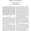 Vibration-based Terrain Classification Using Support Vector Machines
