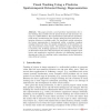 Visual Tracking using a Pixelwise Spatiotemporal Oriented Energy Representation