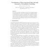 Visualisation of tree-structured data through generative probabilistic modelling