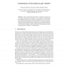 Visualization of Description Logic Models