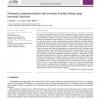 Volumetric parameterization and trivariate b-spline fitting using harmonic functions
