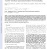 Volumetric Vector-Based Representation for Indirect Illumination Caching