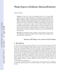 Wadge Degrees of Infinitary Rational Relations