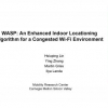WASP: An Enhanced Indoor Locationing Algorithm for a Congested Wi-Fi Environment