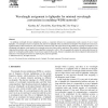 Wavelength assignment to lightpaths for minimal wavelength conversions in multihop WDM networks