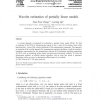 Wavelet estimation of partially linear models