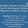 WCOMP: Waveform Comparison Tool for Mixed-signal Validation Regression in Memory Design
