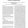 Web-based graphical querying of databases through an ontology: the Wonder system