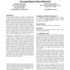 Web-based information content and its application to concept-based video retrieval