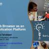 Web Browser as an Application Platform