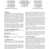Web presentation system using RST events