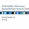 WebTrafMon: Web-based Internet/Intranet network traffic monitoring and analysis system