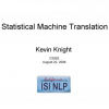 What's New in Statistical Machine Translation