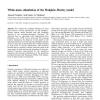White-noise stimulation of the Hodgkin-Huxley model