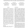Who Thinks Who Knows Who? Socio-cognitive Analysis of Email Networks