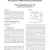Wirelength modeling for homogeneous and heterogeneous FPGA architectural development