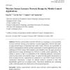 Wireless Sensor/Actuator Network Design for Mobile Control Applications