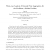 Worst-case analysis of demand point aggregation for the Euclidean p-median problem