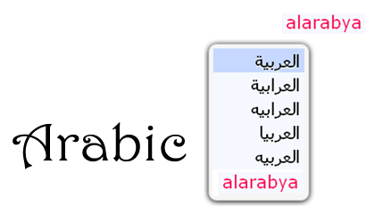 Smart Arabic Transliteration keyboard