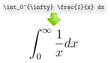 Converts Latex equations to high resolution images to embed in documents and presentations